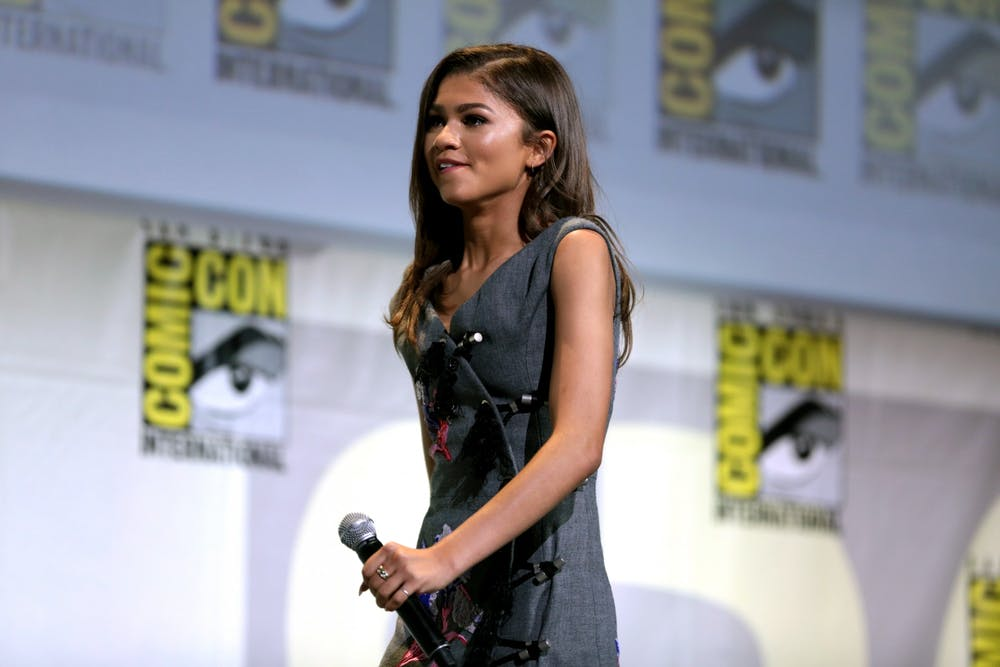 "<p>Zendaya stars as one of the title characters in Sam Levinson's new film ""Malcom and Marie.""</p>"