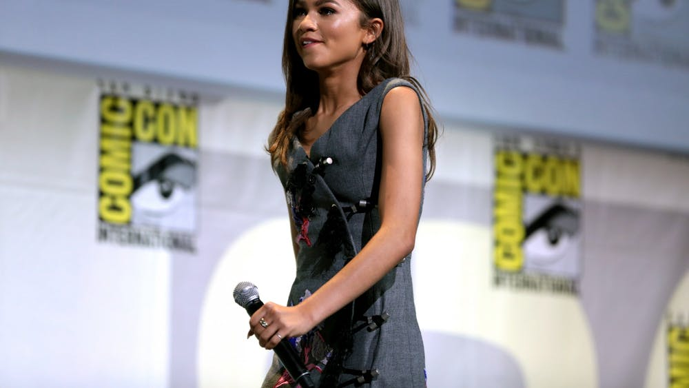 """Zendaya stars as one of the title characters in Sam Levinson's new film """"Malcom and Marie."""""""