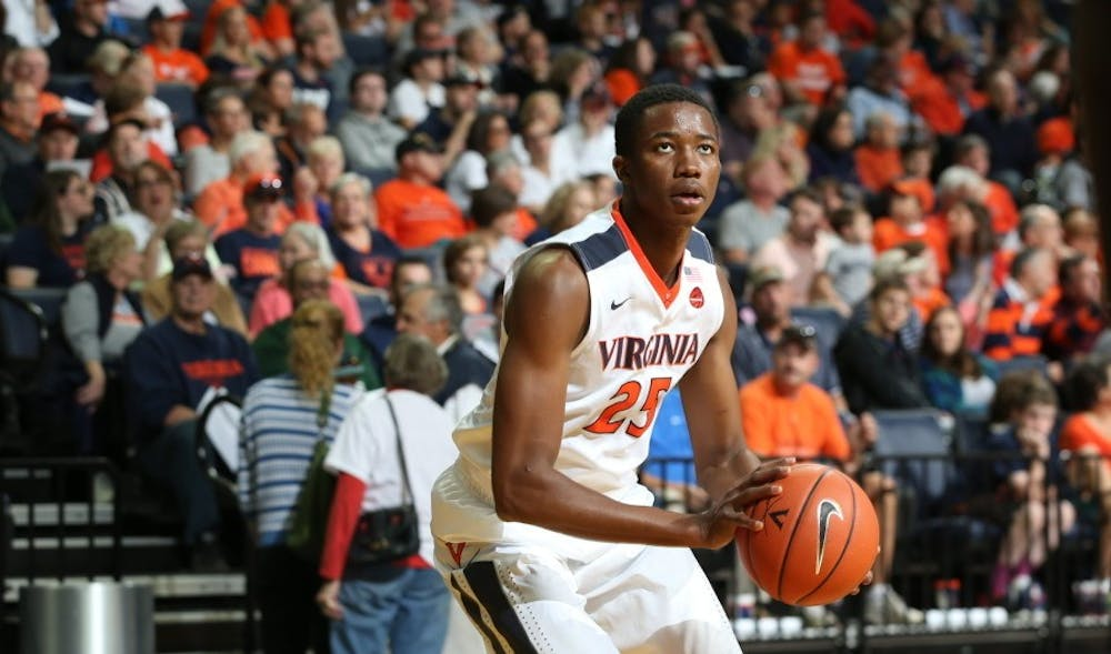 <p>Sophomore forward Mamadi Diakite anchored the Cavaliers' defense, tallying four blocks to propel the JPJ crowd into a frenzy time and again.&nbsp;</p>