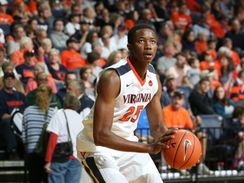 Sophomore forward Mamadi Diakite anchored the Cavaliers' defense, tallying four blocks to propel the JPJ crowd into a frenzy time and again.