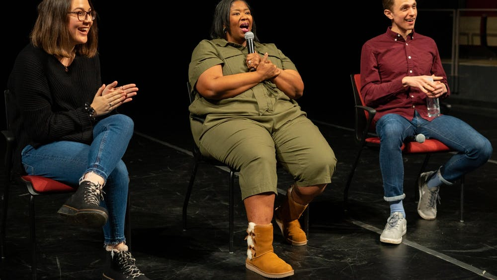 "Broadway Talks Back head Kristen Kelly moderated a discussion with ""Waitress"" alums Natasha Yvette Williams and Henry Gottfried."