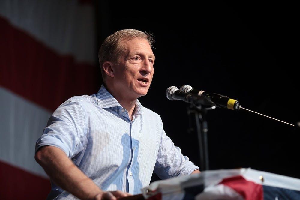 亿万富翁,例如 George Soros 和 Tom Steyer,向弗吉尼亚的当地选举中 投入了数十万美元。