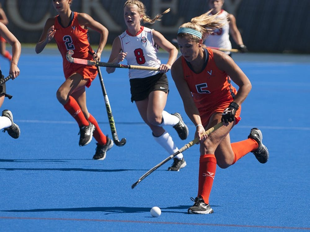 Sophomore forward Caleigh Foust score Virginia's lone goal against Wake Forest, tying the game at 1-1 early in the second half.