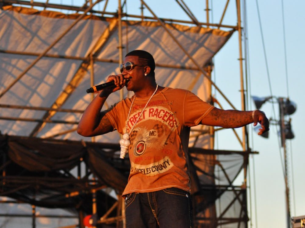 Gucci Mane performs in Williamsburg, Brooklyn in August 2010. Since his career began in 2005, Gucci has released 15 studio albums.