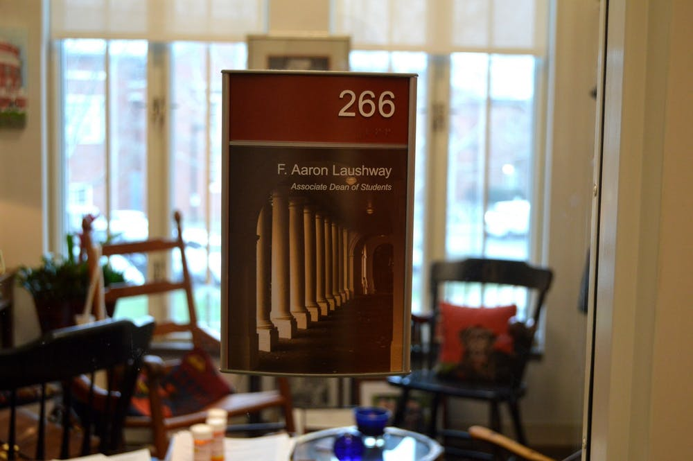 <p>Laushway has served at the University for the past 24 years.</p>