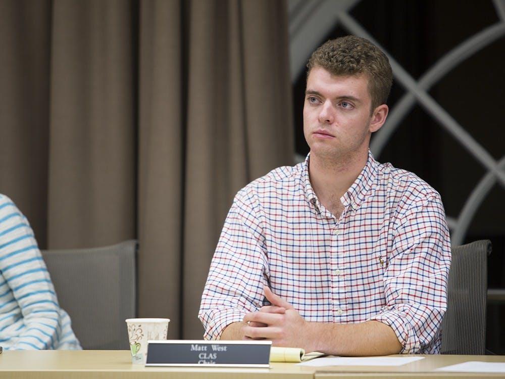 Honor Chair Matt West.