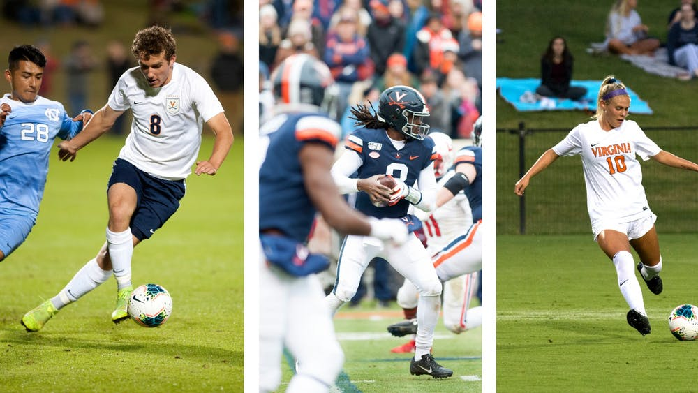 Virginia football, men's soccer and women's soccer all had memorable fall seasons.