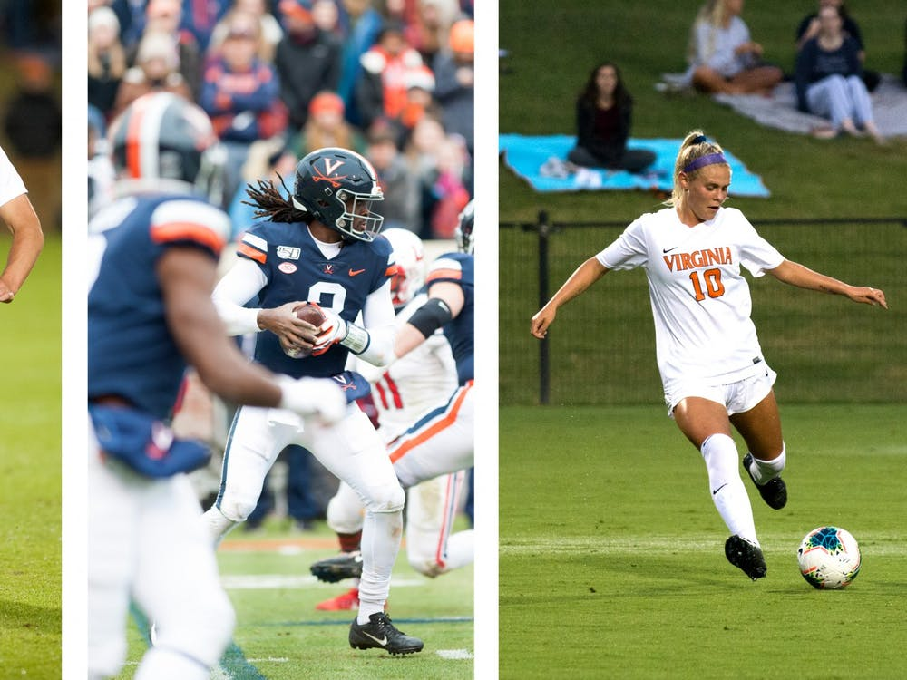Virginia football, men's soccer and women's soccer all had memorable fall seasons.