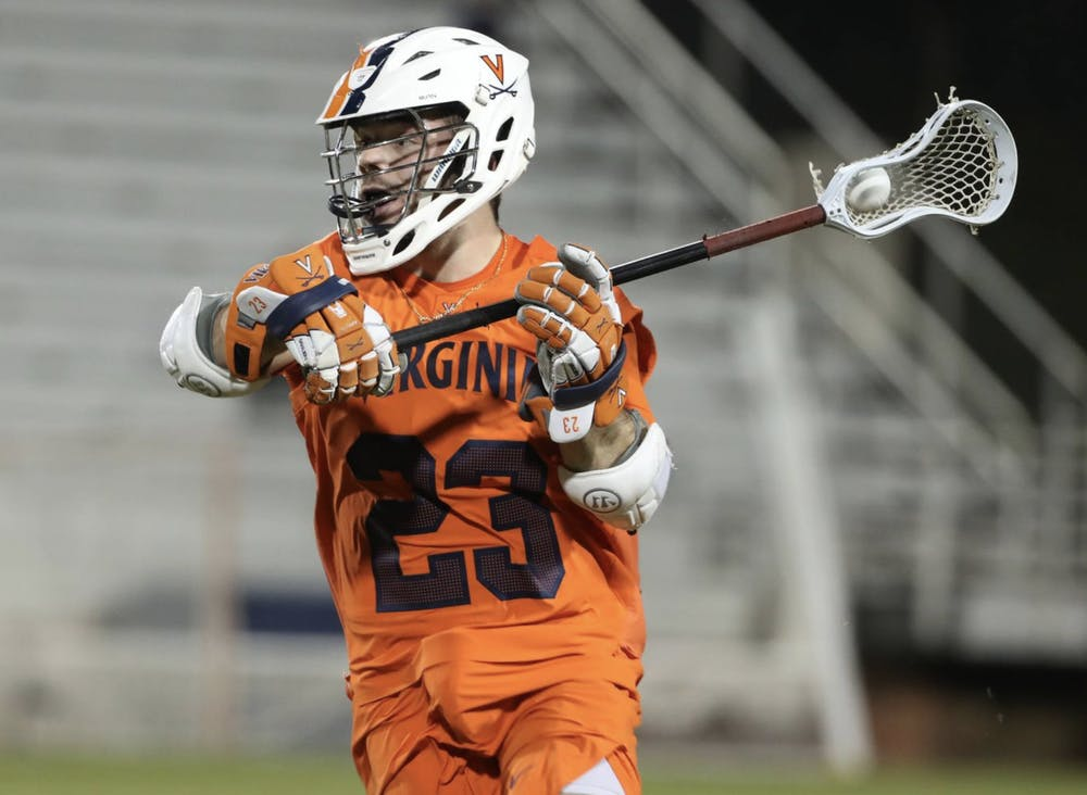 <p>Junior midfielder Petey LaSalla went 21-31 from the face-off X against the talented Tar Heels, but his performance didn't bode will enough to secure the Cavaliers a win.</p>