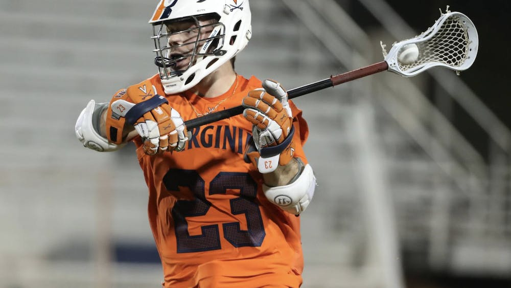 Junior midfielder Petey LaSalla went 21-31 from the face-off X against the talented Tar Heels, but his performance didn't bode will enough to secure the Cavaliers a win.