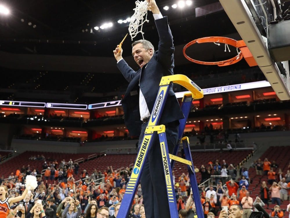 Despite coming up short in past years, Coach Tony Bennett led this year's Virginia team to its first Final Four berth since 1984 with an overtime win over Purdue Saturday night.
