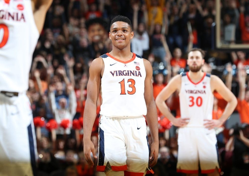 <p>Freshman guard Casey Morsell ignited on offense, leading Virginia with 19 points and guiding the team to victory late in the game.&nbsp;</p>