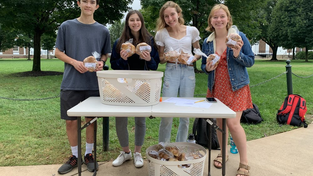 Challah for Hunger sets up shop on the Lawn every Thursday from 10 a.m. to 2 p.m., selling freshly baked challah bread in a variety of delicious flavors to hungry students trekking to and from classes.