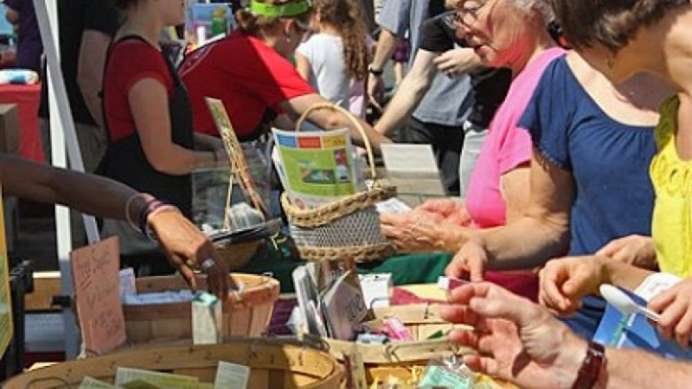 The 18th annual Charlottesville Vegetarian Festival occurred this past Saturdayin Lee Park.