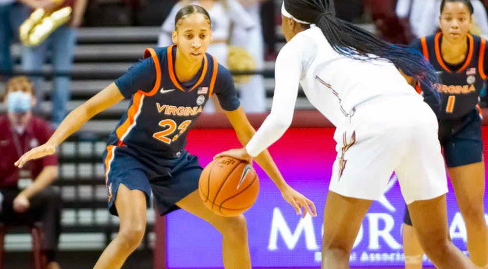 <p>While Virginia has fallen behind this season with five consecutive losses, sophomore guard Amandine Toi has been a major contributor on the court, scoring a game-high 23 points with five three-pointers against Clemson Thursday.</p>