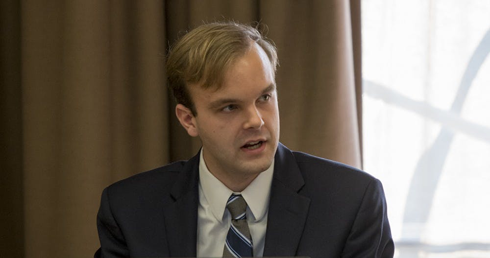 <p>Newly elected UJC chair&nbsp;Peter Bautz.</p>