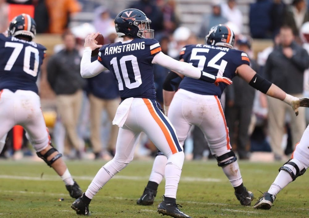 <p>Armstrong will look to lead the Cavaliers to their second straight ACC championship game. &nbsp;</p>