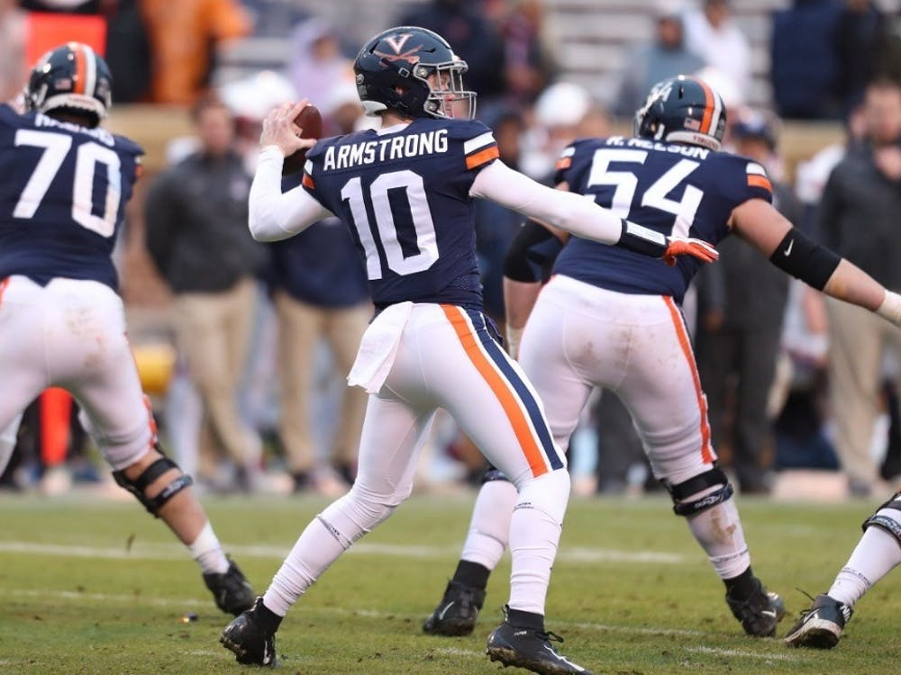 Armstrong will look to lead the Cavaliers to their second straight ACC championship game.