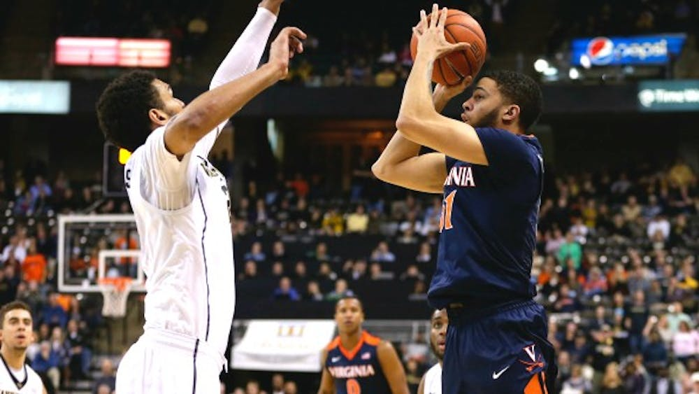 Sophomore guard Darius Thompson, quiet in Virginia's past few games, banked in the game winning three Tuesday against Wake Forest.
