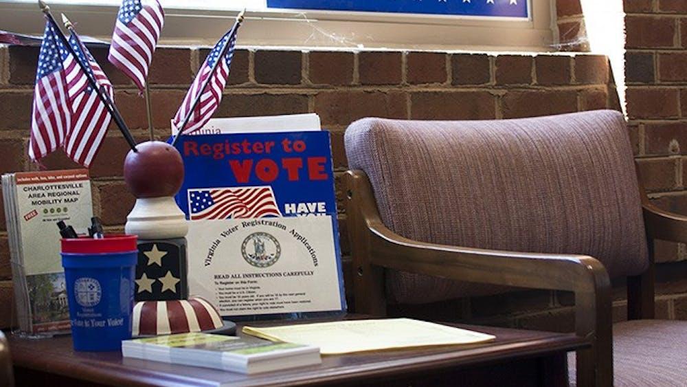The deadline to register to vote in Virginia is Oct. 17.