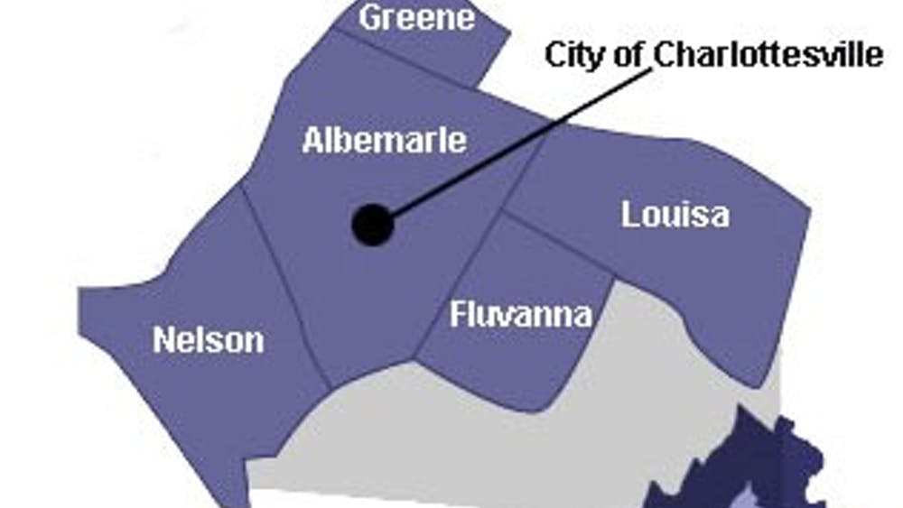 The Jefferson Health District plan will affect the City of Charlottesville and Greene, Albemarle, Nelson, Fluvanna and Louisa counties.