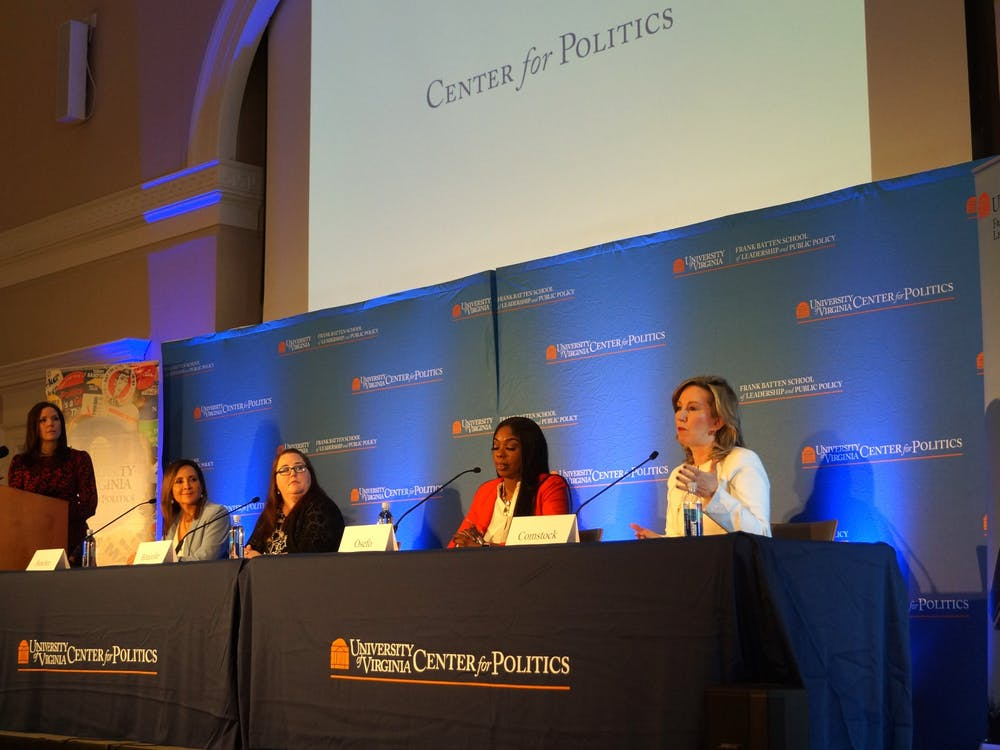 "The event was part of ""Democracy in Perilous Times: Unprecedented Challenges and Controversies"" — an ongoing series organized by the Center for Politics and Batten School."