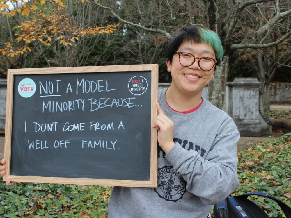 ASU's 'Not a Model Minority' campaign encouraged participants to advocate for nonconformity, as demonstrated by the one of the campaign's leaders, Zoe Pham.