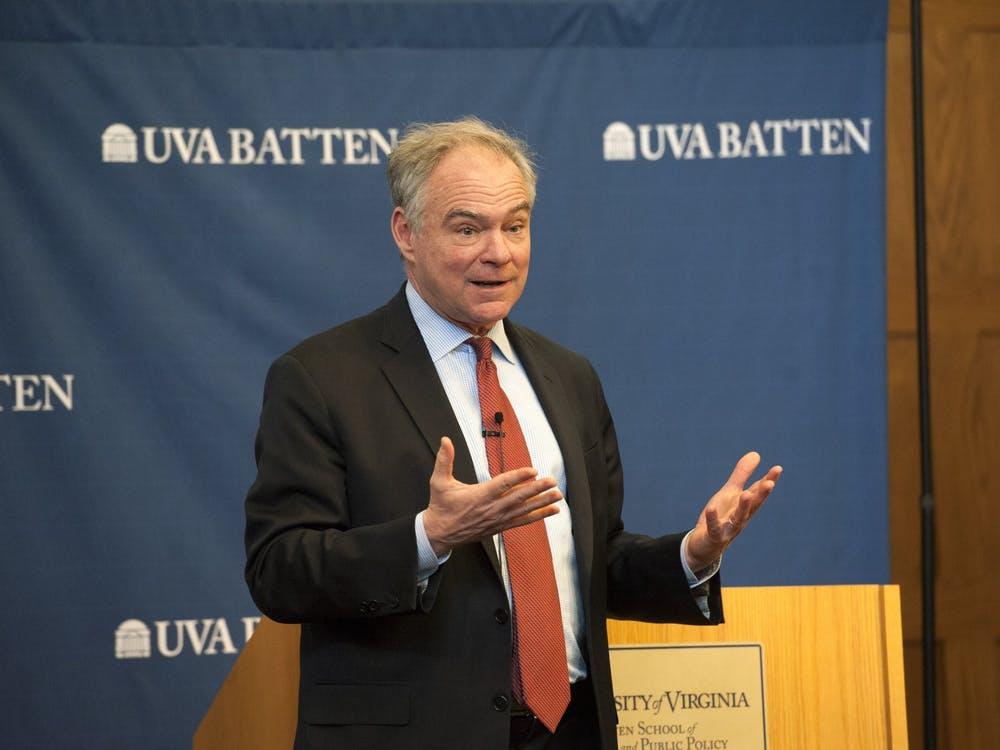 Senator Kaine explained that he values the insight of students and young people in matters of war and peace.