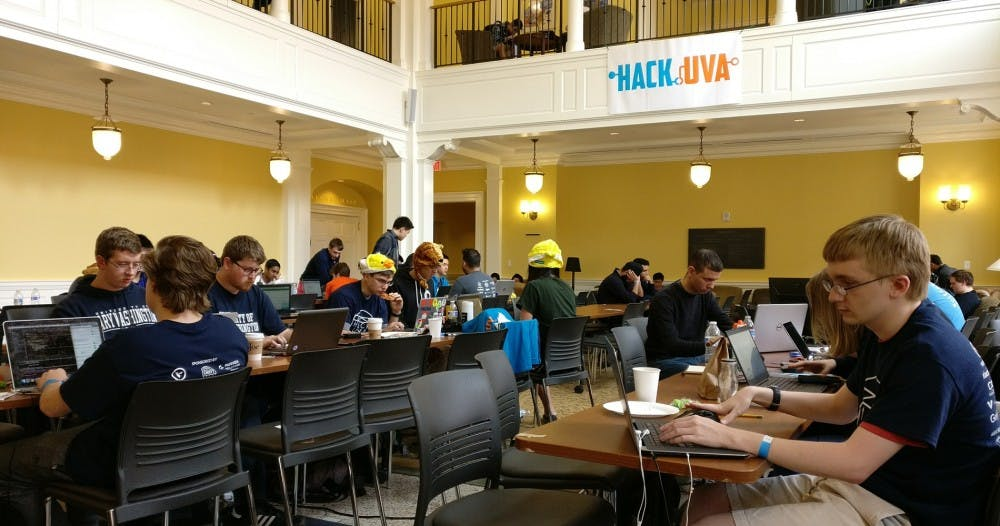 <p>Students spent 24 hours competing to build the best&nbsp;web or mobile application platforms from scratch.</p>