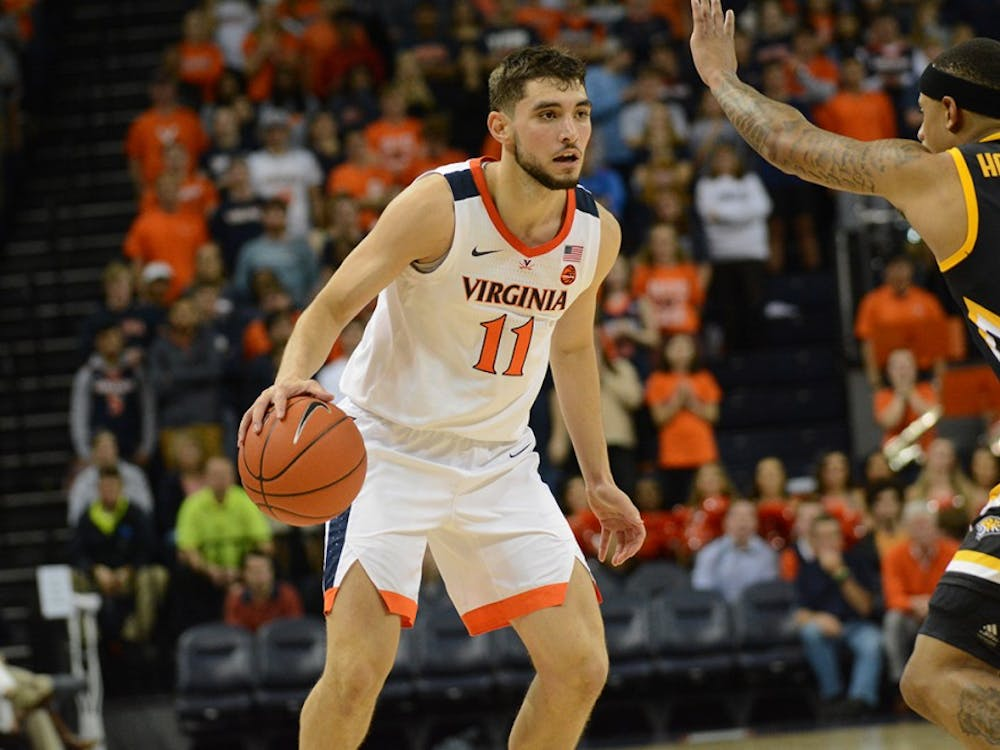 Junior guard Ty Jerome led all scorers with 20 points Tuesday night against Towson.