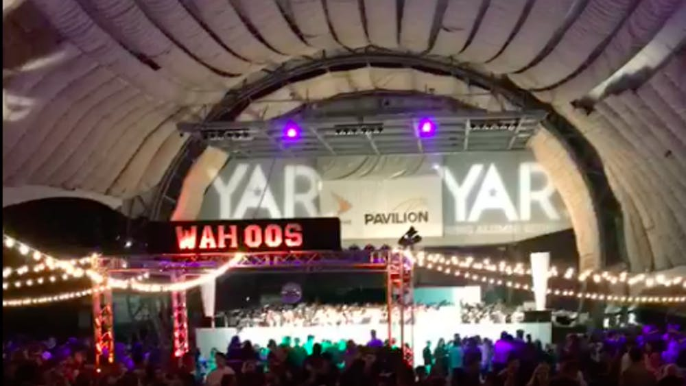 YAR took place at the Sprint Pavilion downtown instead of the Amphitheater.