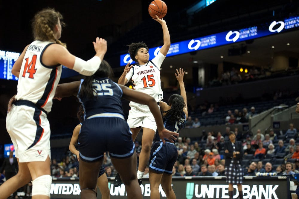 <p>Freshman guard Kylie Kornegay-Lucas led all scorers with her career-high 31 points.</p>
