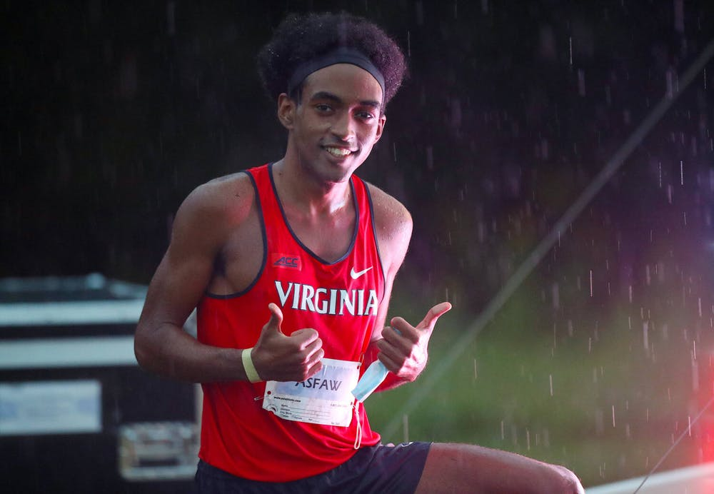 <p>Asfaw is the first male ACC athlete to earn the honor since Syracuse's Justyn Knight in 2017.&nbsp;</p>