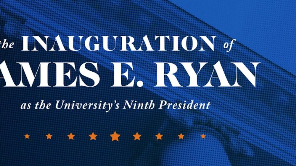 Jim Ryan's inauguration is the ninth in U.Va. history.
