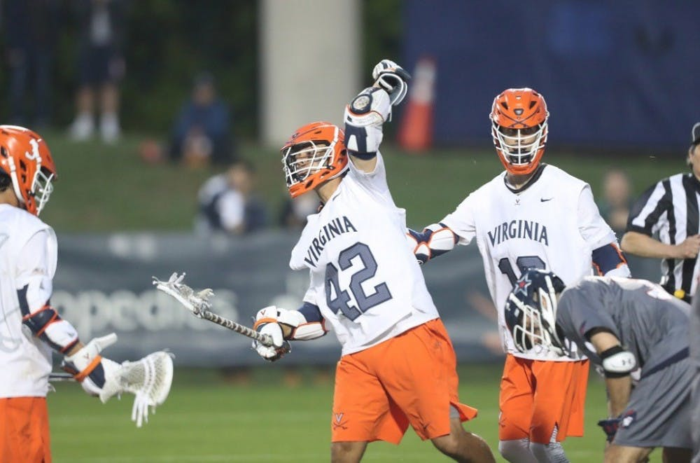 No. 3 seed Virginia men's lacrosse dominates Robert Morris 19-10 in NCAA Tournament opener