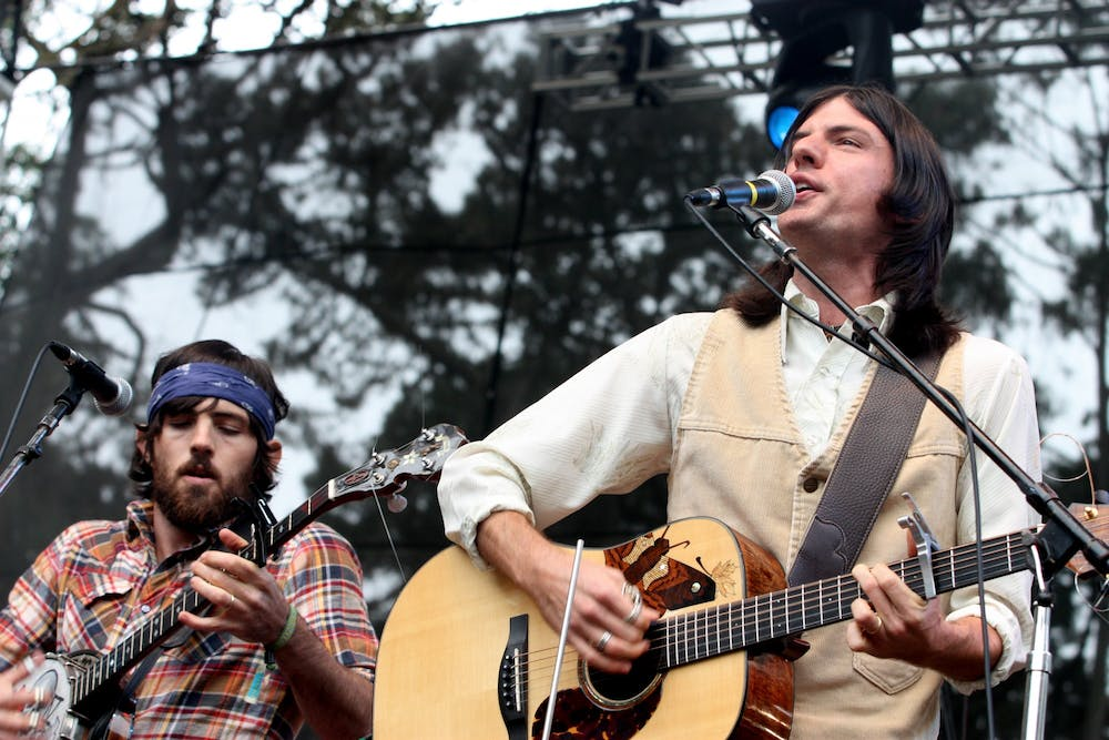 <p>Brothers Scott and Seth Avett have performed together as The Avett Brothers for over ten years.&nbsp;</p>