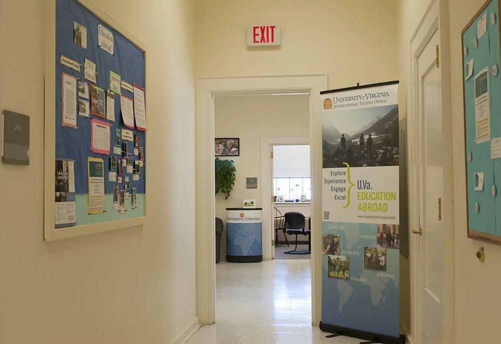 La oficina de estudios en el extranjero se encuentra en el segundo piso de Minor Hall.