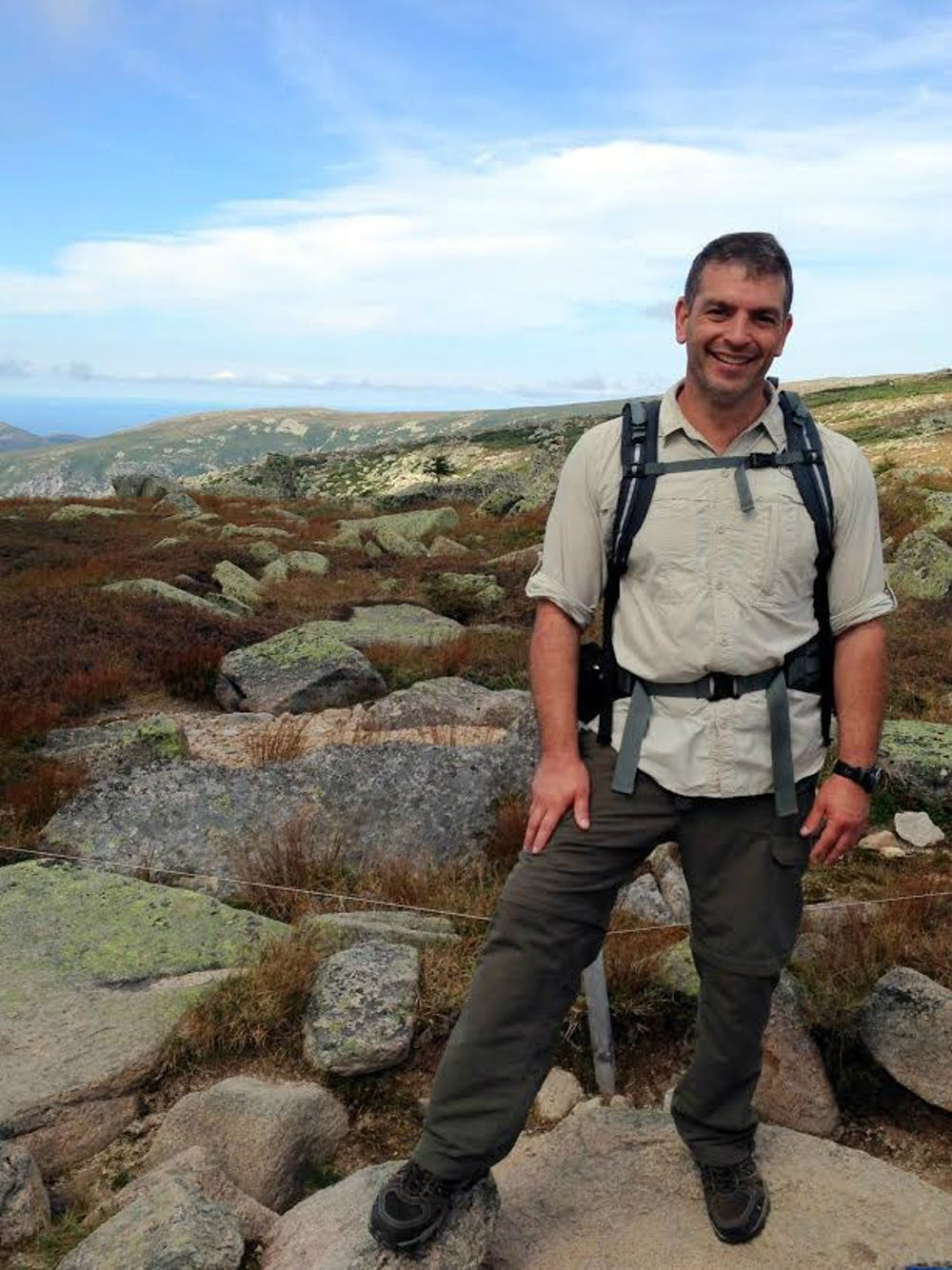 <p>Gobin said his experience at Darden helped him found and run Warrior Hike.</p>