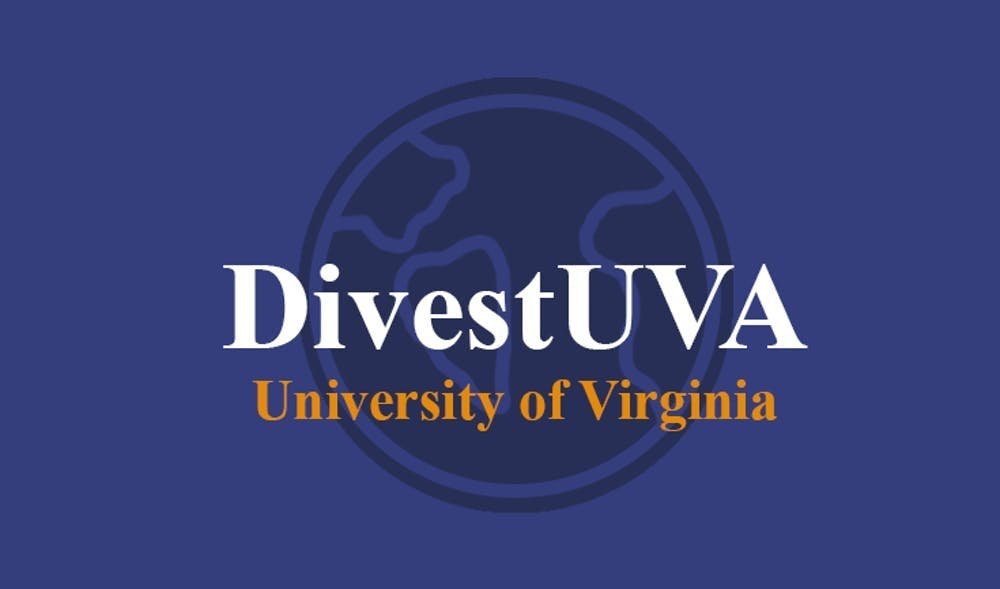 "DivestUVA要求将这些资金重新投资到弗大""尊重教职员工和学生未来的资产""中。"