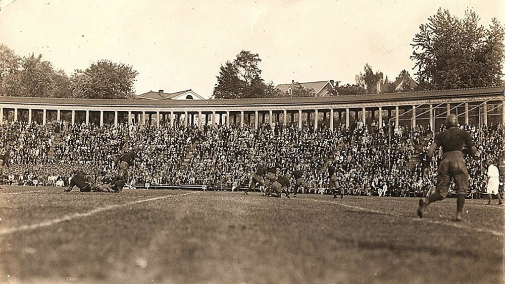 Lambeth Field was the site of Hunter Carpenter and Virginia Tech's first win over Virginia in 1905.