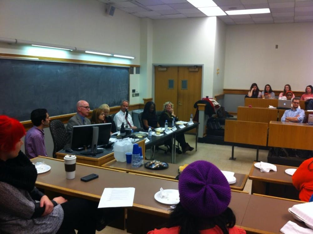 <p>Active Minds hosts events including movie screening, professor panels, and study breaks to increase awareness of mental health issues on Grounds and foster an open conversation among the University community. </p>