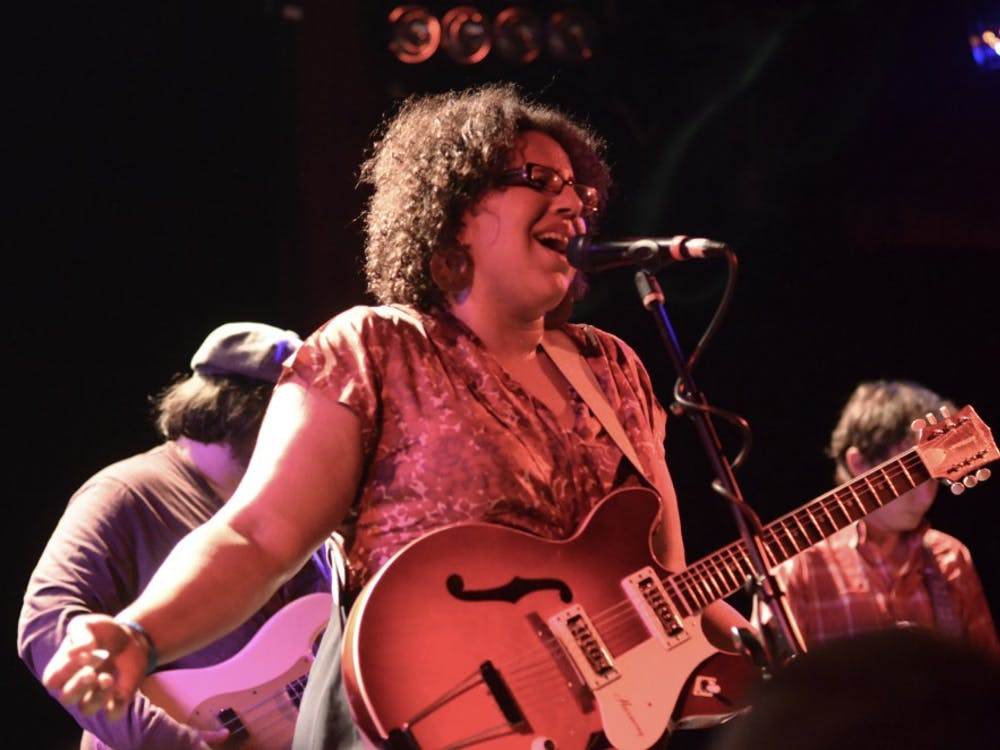 Brittany Howard — performing here with her band Alabama Shakes in 2012 — grapples with identity on her debut solo release.