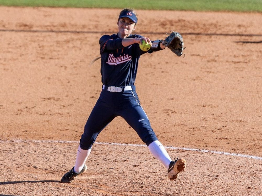 Despite having a tough outing against Clemson, sophomore pitcher Aly Rayle has been an ace for Virginia this season, posting 55 strikeouts and a 2.86 ERA.