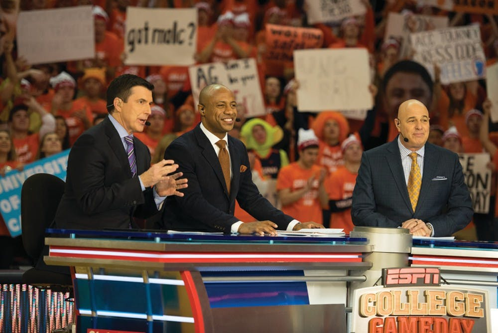 """<p>The signature """"College GameDay"""" pregame show will air a live segment from 11 a.m. to noon at John Paul Jones Arena.</p>"""