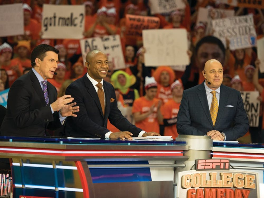 """The signature """"College GameDay"""" pregame show will air a live segment from 11 a.m. to noon at John Paul Jones Arena."""