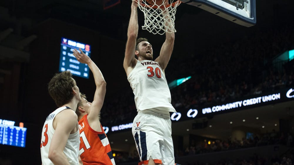 Senior forward Jay Huff and the Cavaliers will face one of Virginia's toughest non-conference schedules of the Bennett era.