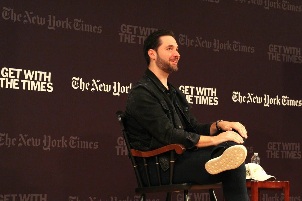 <p>University alumnus Alexis Ohanian is the co-founder of both Reddit and start-up Initialized Capital.</p>