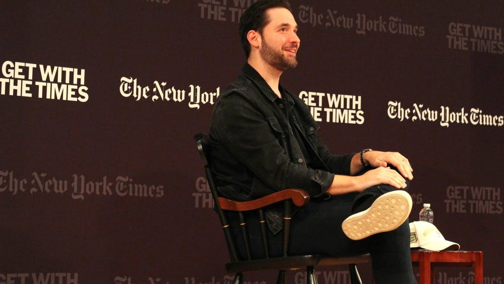 University alumnus Alexis Ohanian is the co-founder of both Reddit and start-up Initialized Capital.