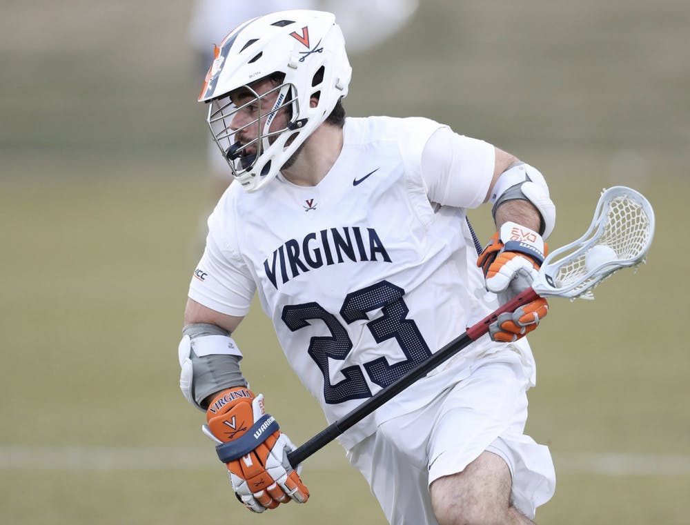 <p>Virginia went 19 of 23 from face-off with junior midfielder Petey LaSalla leading the charge at the X.</p>