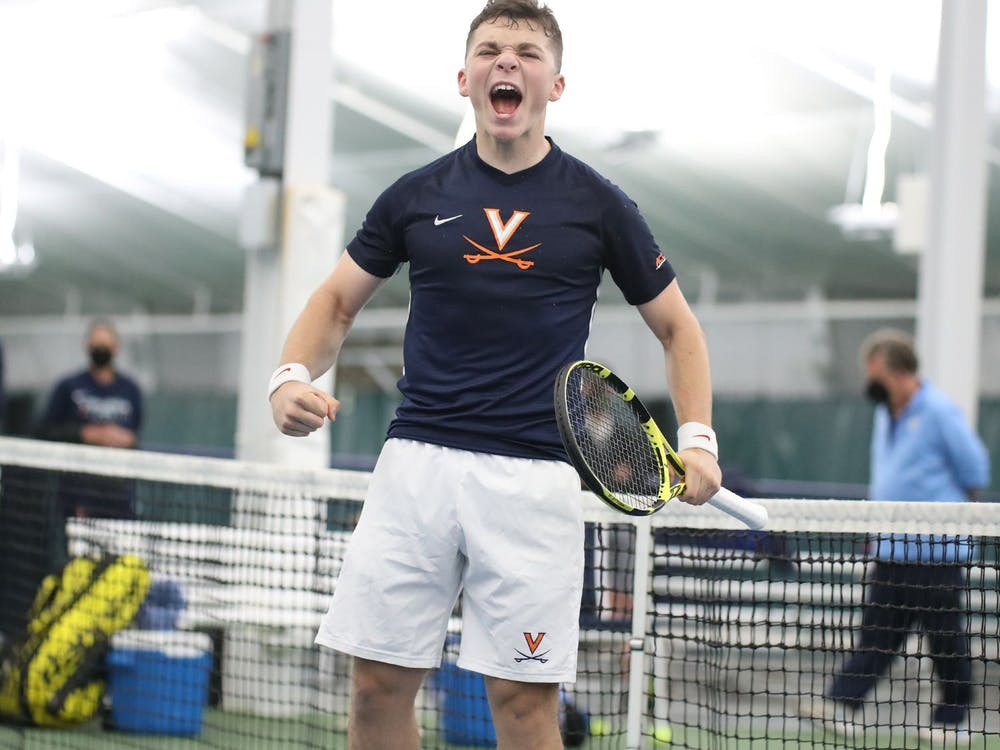 Virginia freshman Iñaki Montes helped secure the doubles point and a singles point for the Cavaliers against No. 1 North Carolina.